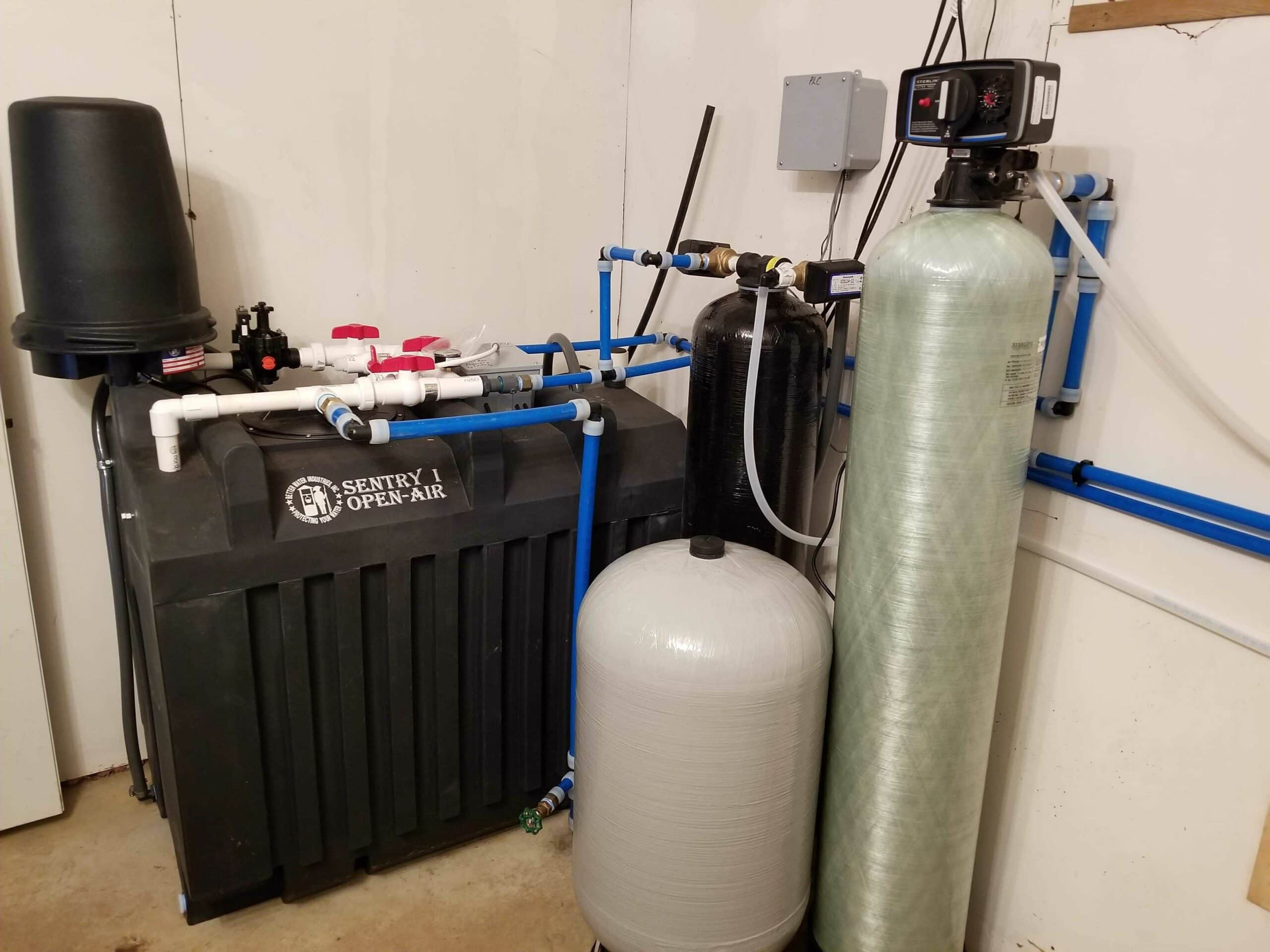 after water filtration system