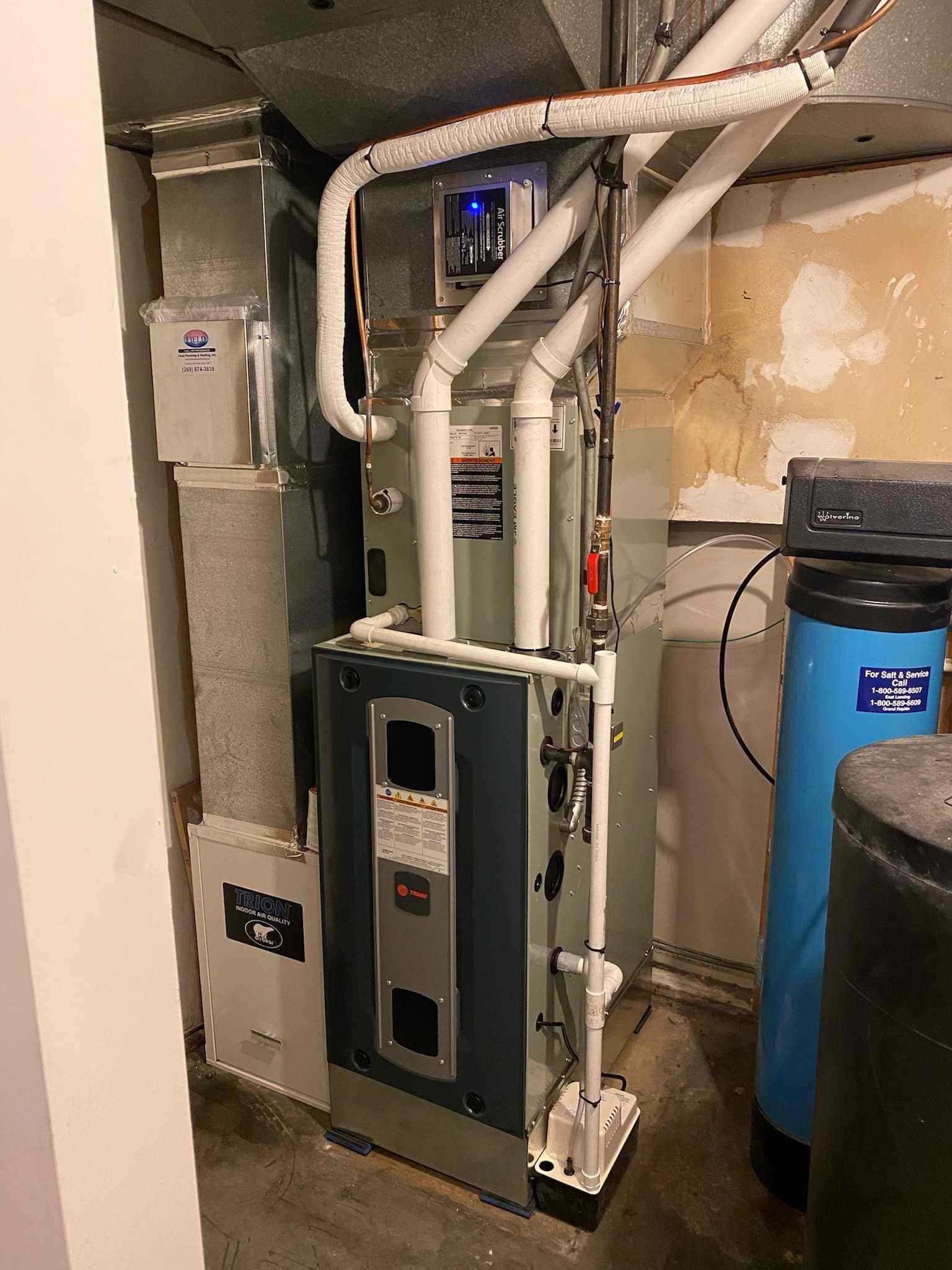 furnace install 2