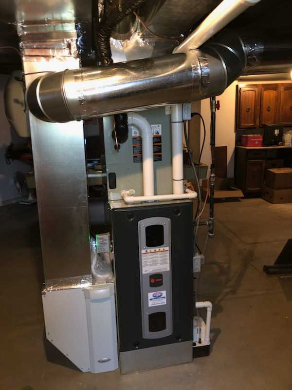 furnace install 1